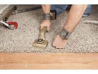 3 bed room house carpet with 12mm underlay and fitting only in £999 call
