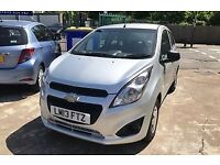 2013 CHEVROLET SPARK 1.0 MANUAL 5 DOOR 47 K MILES, A/C USB AUX. CAT N RECORDED