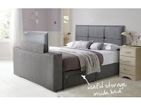 """4ft 6"""" double 2 draw TV Bed from DFS."""
