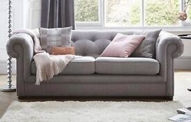 BRAND NEW UNUSED IN PACKAGING DFS OPERA SOFA CHESTERFIELD STYLE