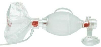 Case- 6 Kits Ambu Spur Ii Disposable Pediatric Resuscitator Bvm Ref 531613030
