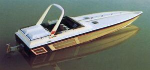 WANTED - Dumas Wellcraft 38 Scarab KV R/C boat Miami Vice