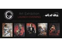 The Golden Horseshoe Presents The Art of Dita Launch Event