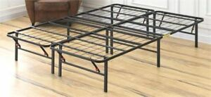 king size metal bed frame, new