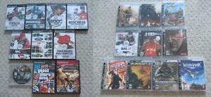 Playstation 2 (PS2) & Playstation 3 (PS3) Games - 22 Available