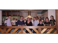 Full and part time Waiting Staff for Wildwood Restaurants
