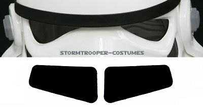 STORMTROOPER HELMET LENSES FLAT, Armour, Costume, NEW