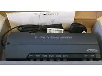 WOLSEY 6+1 way TV signal amplifier