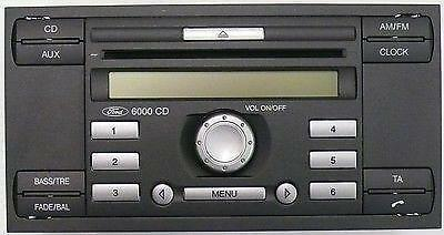 ford 6000 cd aux input ebay. Black Bedroom Furniture Sets. Home Design Ideas