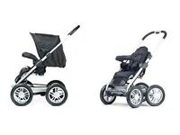 Mutsy Urban Rider (carrycot,seat unit,chassis,change bag)