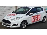 RED DRIVING INSTRUCTOR OFFERING PROFESSIONAL LESSONS IN BRIGHTON & HOVE