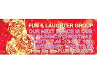 50-PLUS FUN &LAUGHTER CHRISTMAS DANCE