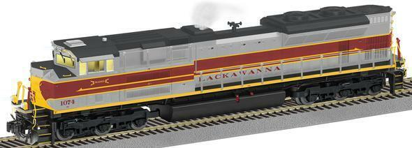 American Flyer 6-42522 S Lackawanna NS Heritage SD70Ace Diesel Locomotive #1856