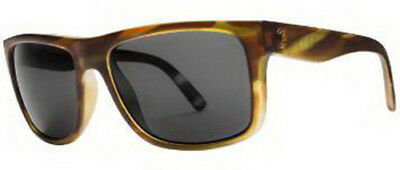 Electric Visual Sixer Matte Olive Tortoise / OHM Grey Sunglasses