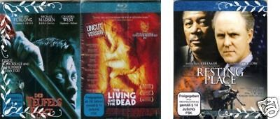 3 Filme - The Living and the Dead, Resting Place, Der Teufelspakt ( BLU-RAY ) ()