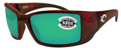 Costa Del Mar BL10OGMGLP Polarized Blackfin Green Mirror 580G (Costa Blackfin 580g)