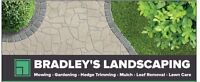 BRADLEY'S LANDSCAPING, SUMMER Clean-up Special $99+