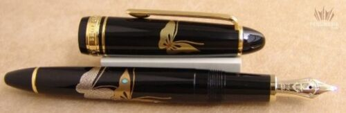 Sailor 1911 Mid-size Standard Resin Maki-e Chou (butterfly) Fountain Pen Amazing
