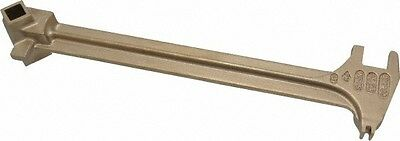 Ampco 15 Long Aluminum Bronze Drum Plug Wrench For Use With 22 Different Bun...