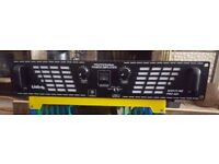 Liston Nightline Pro400 rackmount power amp