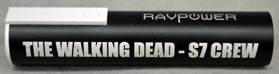 Walking Dead Cast and CREW GIFT Season 7 Portable Phone Charger Ravpower for sale  Shipping to India