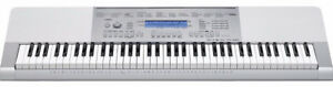 76-Key Touch Sensitive Keyboard with Power Supply