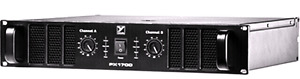 Yorkville PX1700 amplifiers