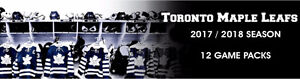 Toronto Maple Leafs 12 Game Packs! Secure your Seats Today.