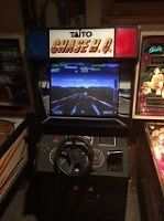 Classic CHASE HQ Coin operated ARCADE Driving Game machine