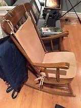 Chaise berçante / Rocking chair