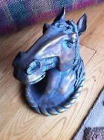 Rare 3D Horse Head Wall Mount