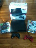 PS3 20 GAMES WITH 2 CONTROLLERS