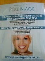 "KIT DE BLANCHIMENT DES DENTS ""PURE IMAGE"""