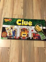 "NEW ""CLUE"" GAME"