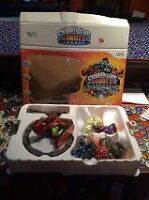 Skylander Giants Wii game and figures