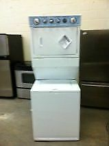 STACKABLE WASHER/DRYER LIKE NEW WITH WARRANTY, FREE DELIVERY!!