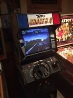 Classic CHASE HQ Coin operated ARCADE game Driving machine