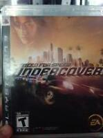 """NEED FOR SPEED UNDER COVER"" FOR PS3"