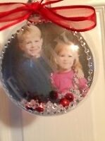 Free Delivery-ORDER NOW! Personalized Photo Christmas Ornaments