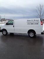 DAVE BROWN PAINTING & DECORATING (613) 985-3449