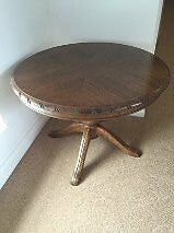 Beautiful wooden occasional table.