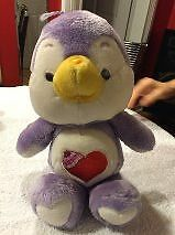 Cozy Heart Penguin Care Bear Vintage