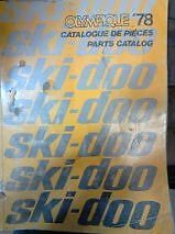1978 Ski-doo Olympique and Citation Parts Manuals