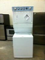 STACKABLE WASHER AND DRYER SETS AVAILABLE WITH WARRANTY!!!
