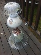 GLASS GARDEN/ DECK DECORATIONS