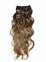 Clip in hair extention