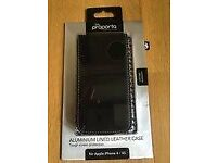 iPhone 4/4S Leather Case by Proporta, Boxed