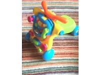 TOYS R US BABY BRUIN RIDE ON BABY WALKER
