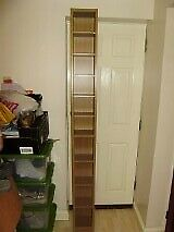 Shelf, ideal for DVDs or other small items for display, VGC, splits into two units, can deliver
