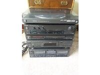 technics separates ,cd,twin cassette,amp,tuner and turntable